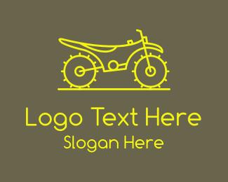 Sports - Neon Motorbike Sport logo design