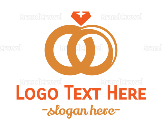Ring - Wedding Rings logo design