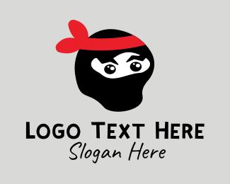Ninja - Ninja Mascot Character logo design