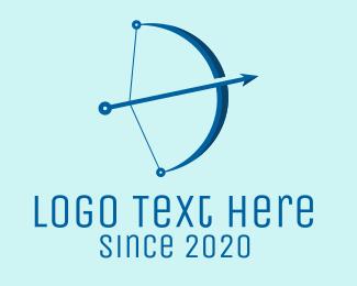 Archer - Arrow Technology logo design