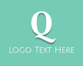 Cleanser - Fresh Letter Q logo design