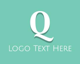 Pure - Fresh Letter Q logo design