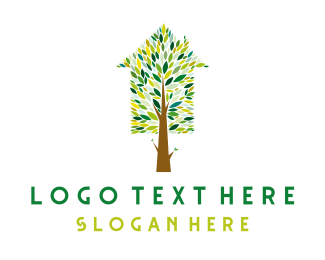 Natural - Tree House logo design