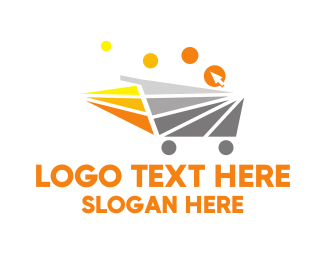 Mart - Fast Shopping Cart logo design