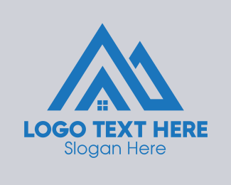 Roofing Service - Subdivision Letter A logo design