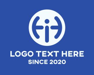 Inquiry - Blue Information Letter I logo design