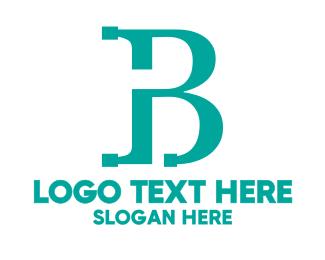 Teal - Modern Teal B logo design