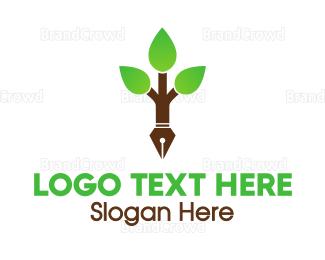 Research - Pen Tree logo design