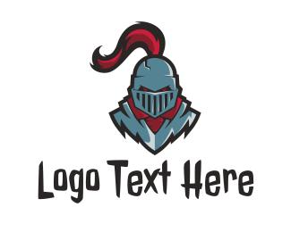 Savage - Evil  Knight logo design