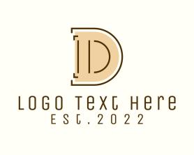 Company - Minimalist Letter D logo design