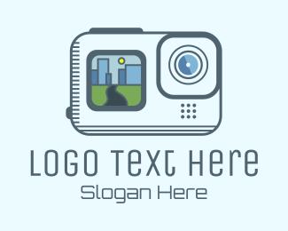 Photo Website - Minimalist Urban Camera logo design