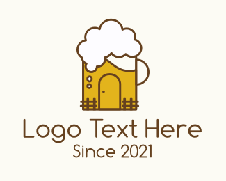 """Beer Mug House "" by marcololstudio"