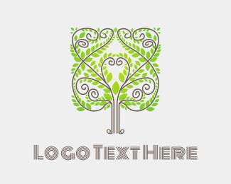 Elegant - Elegant Tree logo design