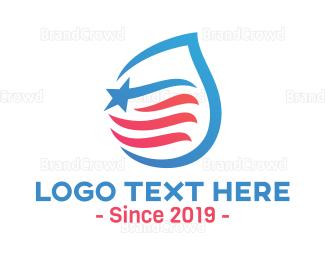 Politics - American Brewery  logo design
