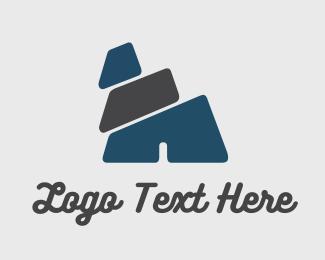 Adventure - Rock Slider logo design