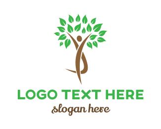 Tree - Human Tree logo design