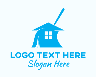 Cleaning Service - House Cleaning Service  logo design