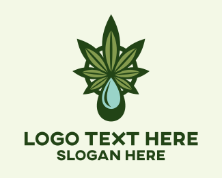 Hemp Farm - Hemp Extract logo design