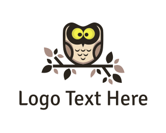 Brown - Brown Owl logo design