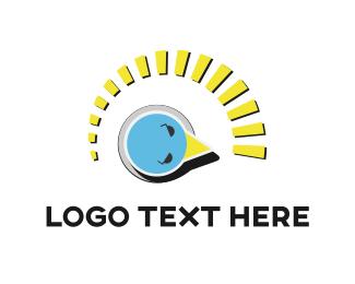 Chicken - Bird Indicator logo design