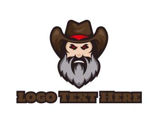Gun - Cowboy Gaming logo design
