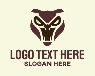 Fang - Furious Animal logo design