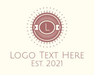 Brand - Retro Hipster Letter logo design