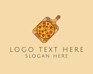 Pepperoni Pizza - Pepperoni Pizza logo design