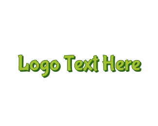 Island - Green & Tropical logo design