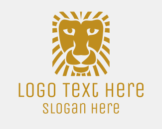 Golden Square Lion Logo