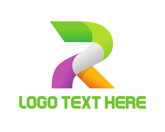 Rio De Janeiro - Bold Letter R logo design