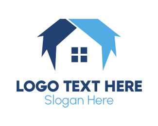 Blue - Blue House logo design