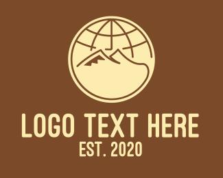 Explorer - International Global Mountains logo design