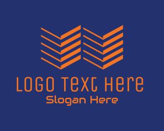 Gadgets - Modern Tech Letter W  logo design