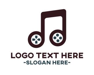 Music - Gaming Music logo design
