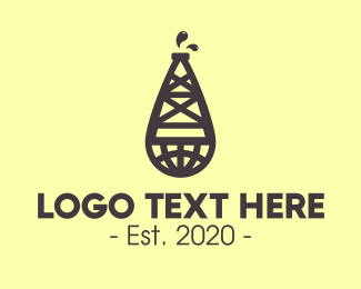 Oil - Global Oil Company logo design