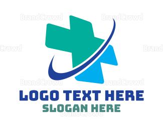 3d - Medical Planet logo design