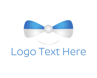 Necktie - Happy Bow Tie logo design