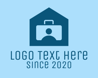 Id - Briefcase Work From Home logo design