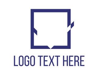 Tick - Square Check logo design