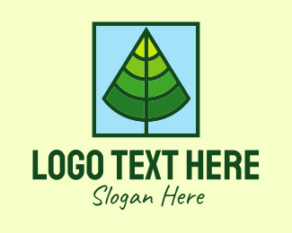 Forest - Square Forest Tree logo design