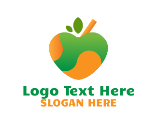 Green Apple - Green Apple Juice logo design