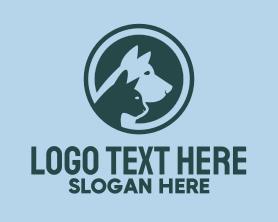 Puppy - Cat & Dog Veterinary logo design
