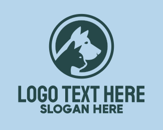 Veterinary - Cat & Dog Veterinary logo design