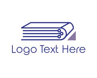 Technological - Tech Blue Book logo design