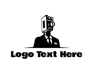 Cameraman - Elegant Cameraman logo design