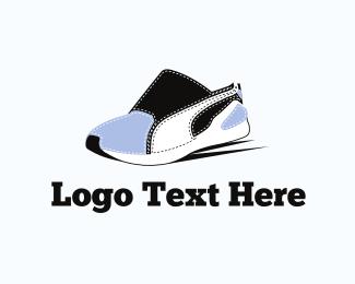 Shoe - Sneaker & Footwear logo design