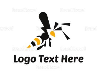 Wild - Wild Wasp logo design