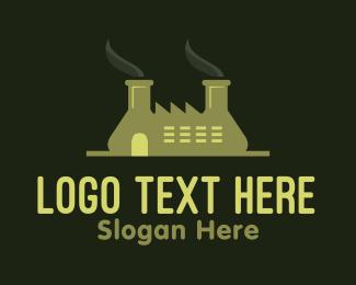 Formula - Green Factory  logo design