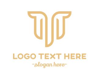Hip Hop - M & T logo design